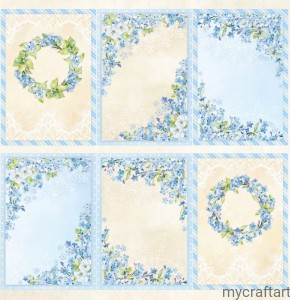 BLOSSOM BLUE COVER DIE CUT