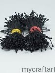 BLACK -ARTIFICIAL FLOWER STAMENS 160PCS