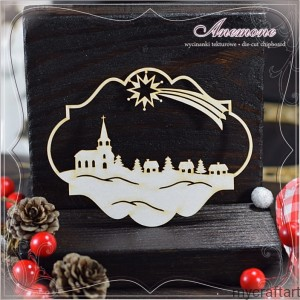 WHITE CHRISTMAS - WINTER ORNAMENT