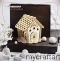 gingerbread house small- for exploding box