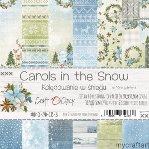 Carols in the snow 12X12 zestaw