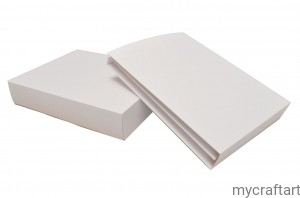 Large folding album TRIFOLD 20,5X15,5 pink  with box