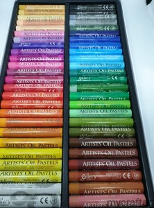 OIL PASTELS -  50 pcs