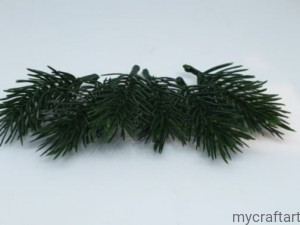 Small Christmas tree branches