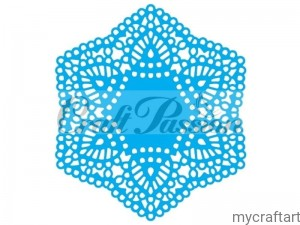 Cutting die doily lace