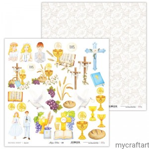 Holy&White 09 First communion die cuts