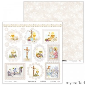 Holy&White 03 First communion die cuts