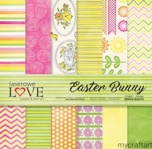 Easter Bunny 12X12 set