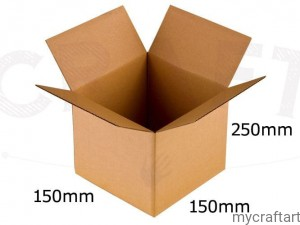 EXPLODING BOX COVER FOR DELIVERY 15X15X25