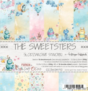 THE SWEETSTERS 6X6 set