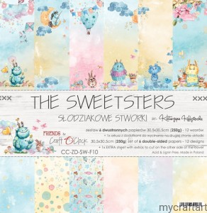 THE SWEETSTERS  12x12 set