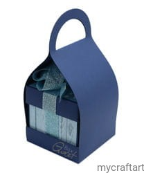 BAG FOR EXPODING BOX NAVY BLUE GOATBOX