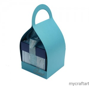 BAG FOR EXPODING BOX TURQUOISE PEARL GOATBOX - 5 psc