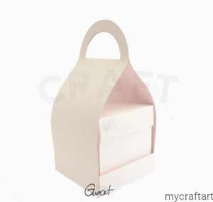 BAG FOR EXPODING BOX PINK PASTEL GOATBOX