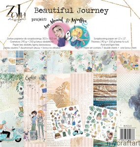 Beautiful Journey  set 12x12