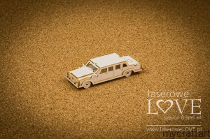 3D Wedding limousine -Holy&White