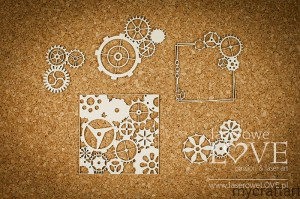 Small cogs - background - Steampunk Heaven