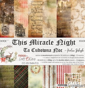 THIS MIRACLE NIGHT- set 12x12