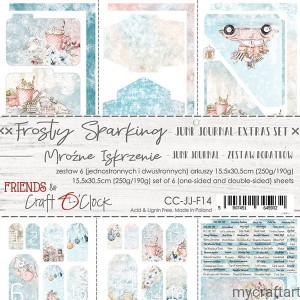 FROSTY SPARKING - JUNK JOURNAL SET