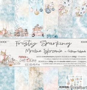 FROSTY SPARKING 12x12 set