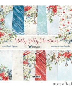 Holly Jolly Christmas paper set 12X12