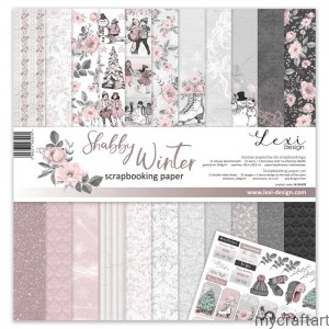 SHABBY Winter 12 x 12 set