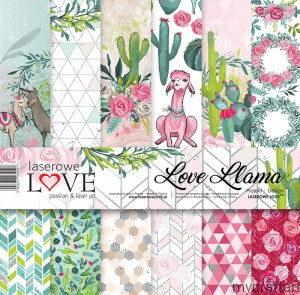 LOVE LAMA 12x12 set