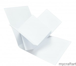 The base of the card TWIST POP UP white  15 cm