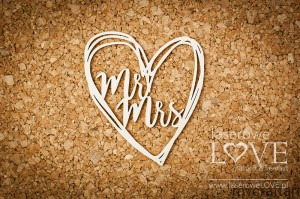 Mrs Mr's heart - Simple Wedding