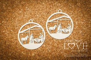 Holy Family in a Christmas ornament - Christmas Carol