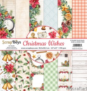 CHRISTMAS WISHES 12x12 set