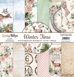 WINTER TIME 12x12 set
