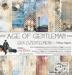 AGE OF GENTLEMAN  12x12 set