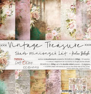 VINTAGE TREASURE  12x12 set