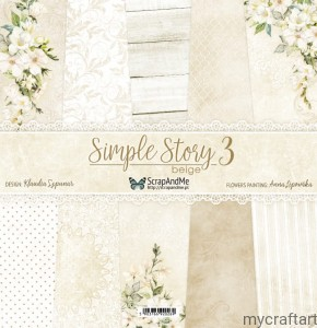 Simple Story 3 beige 12x12 set