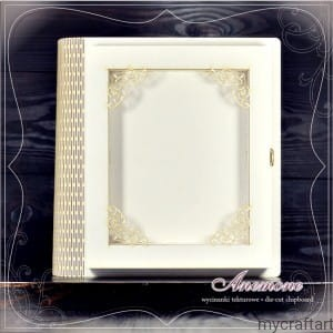 BOX RECTANGLE WITH ORNAMENT