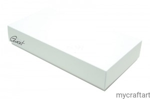 DL white mat box 22x11x4cm HIGH GoatBox