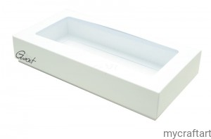 BOX WITH WINDOW RECTANGLE DL  HIGH 4CM  GOATBOX