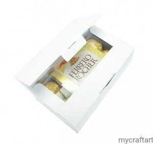 Box for Ferrero Rocher 200g white GoatBox