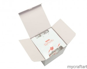 Box for Raffaello 150g pink  GoatBox
