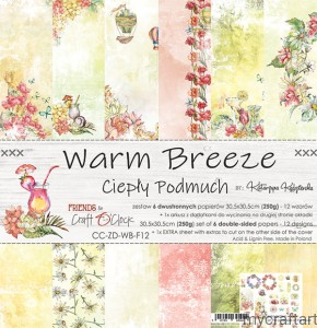 WARM BREEZE 12x12 set